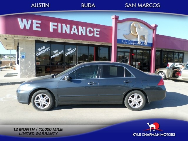 2007 Honda Accord Sedan EX,4DR,LTHR,SUNROOF,HTD SEATS