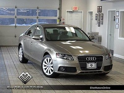2011 Audi A4 Base Sedan 4-Door 11 audi a4 2.0 premium plus heated leather power roof power seat