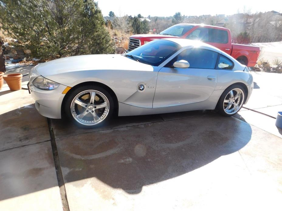 2006 BMW Z4 BMW Z-4 3.0si coupe 6 speed