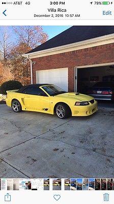2002 Ford Mustang S281 Saleen 02 saleen sc