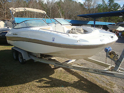 2013 SouthWind 212 Sun Deck - Hurricane Boat - Nice Interior - No Engine