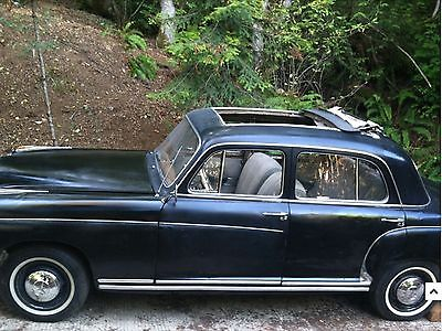 1957 Mercedes-Benz 200-Series leather 1957 Mercedes Benz 220S webasto Sunroof Rust Free Barn Keep