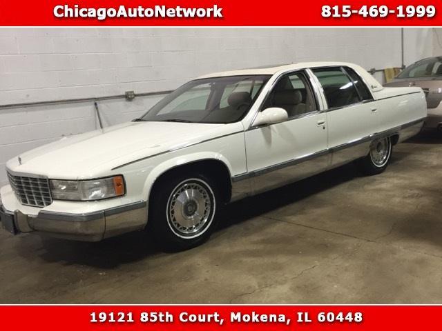 1996 Cadillac Fleetwood Sedan 1996 Cadillac Fleetwood Sedan 57572 Miles White 4dr Car 8 Cylinder Engine 5.7L/3