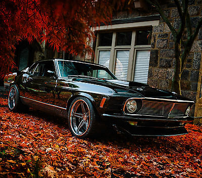 1970 Ford Mustang Mach 1 Fastback 1970 Pro Touring Mustang Mach 1 Fastback