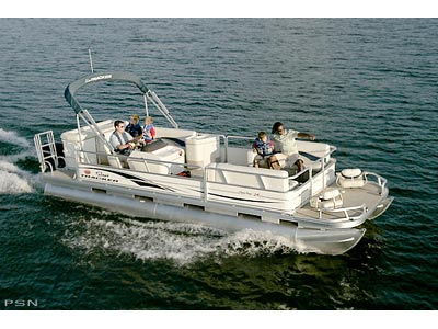 2007 Sun Tracker PARTY BARGE 24 Signature Series