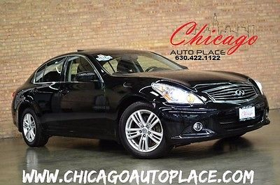 2013 Infiniti G X Sedan 4-Door 2013 INFINITI G37 Sedan x AWD ONE OWNER LOADED NAVI BACKUP CAM BOSE