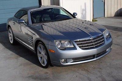 2004 Chrysler Crossfire Base Coupe 2-Door 2004 Chrysler Crossfire Leather 6 Spd Man Cpe 04 MB SLK SLK320 Knoxville TN