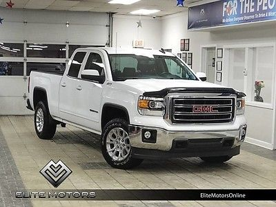 2015 GMC Sierra 1500 SLE Extended Cab Pickup 4-Door 15 gmc sierra 1500 sle 4wd z71 touch screen stream music bed liner auto