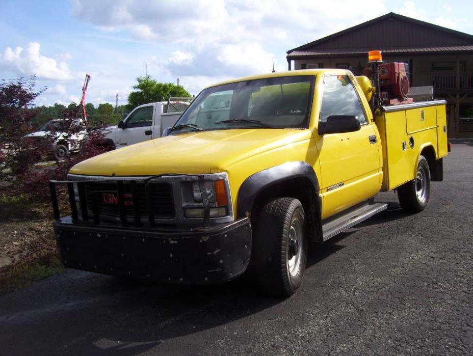 1996 Gmc Sierra 3500  Utility Truck - Service Truck
