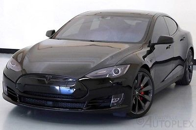 2016 Tesla Model S 16 Tesla Model S P90D Ludicrous Mode Panoramic Sunroof Navigation