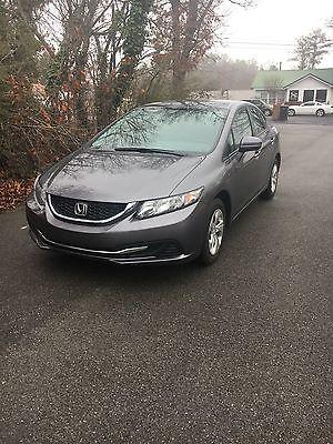 2015 Honda Civic LX 2015 Honda Civic LX sedan
