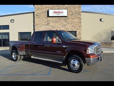 2007 Ford Other Pickups -- 2007 Ford F-350 King Ranch  106829 Miles MAROON  6.0L Turbo Diesel V8 OHV 32V Au