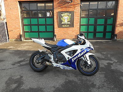 2007 Suzuki GSX-R  2007 SUZUKI GSXR 600  FIVE BROTHERS  RACING EXHAUST RUNS GREAT NEEDS COSMETICS
