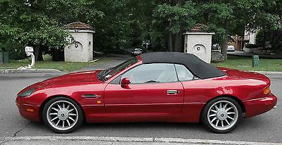 1997 Aston Martin DB7 Volante Convertible 2-Door 1997 Aston Martin DB7 Volante Supercharged I6 NEEDS NOTHING!!
