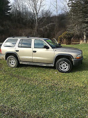2003 Dodge Durango SXT Sport Utility 4-Door 2003 Dodge Durango SXT Sport Utility 4-Door 4.7L 4x4 four wheel drive BUY IT NOW