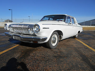 1963 Dodge 330 BASE FAMILY CRUISER, 1963 DODGE 330 4 DOOR SEDAN WITH 31,063 MILES, MAKE A KOOL RIDE!