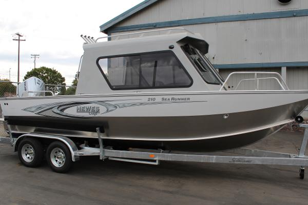 Hewescraft 210 Sea Runner Hardtop boats for sale in California
