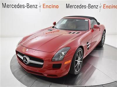 2012 Mercedes-Benz SLS AMG SLS AMG 2012 Mercedes-Benz SLS AMG 10,103 Miles AMG Le Mans Red Convertible, IMMACULATE!