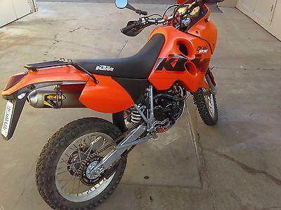 2002 KTM Adventure  2002 KTM 640 Adventure