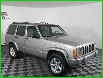 2001 Jeep Cherokee Sport 4x4 I6 SUV Cloth Seats Keyless Entry 206798 Miles 2001 Jeep Cherokee Sport 4WD SUV Tow Pack FINANCING AVAILABLE