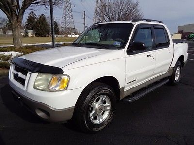 2002 Ford Explorer Sport Trac XLS 2002 FORD EXPLORER SPORT TRAC WHITE 4.0 V6 AUTO SUPER CLEAN RUNS GREAT