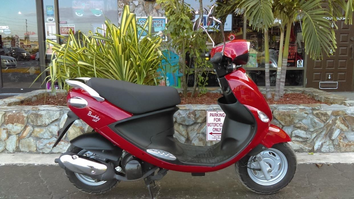2014 Genuine Scooter Company BUDDY 125