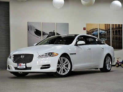 2013 Jaguar XJ L Portfolio Sedan 4-Door 2013 Jaguar XJL Portfolio 3.0L AWD 1-Owner Loaded Ready to Go