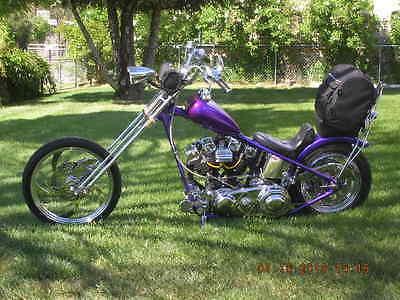 1970 Custom Built Motorcycles Chopper  Harley Ol' School 70's Chopper, Restored