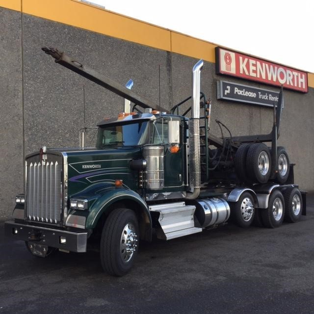 2013 Kenworth W900b Logging