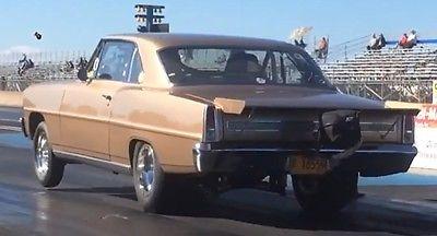 1967 Chevrolet Nova  67 ChevyII Nova all steel 8 second street car