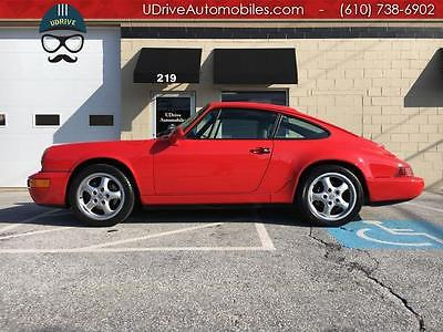 1993 Porsche 911 C4 964 Carrera 4 Coupe 54k Miles 5 Speed Clean Carfax