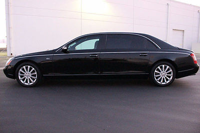 2009 Maybach 62S 4dr Sedan 2009 maybach 62 s celebrity owned stage 5 armor partition limo armored 62 s