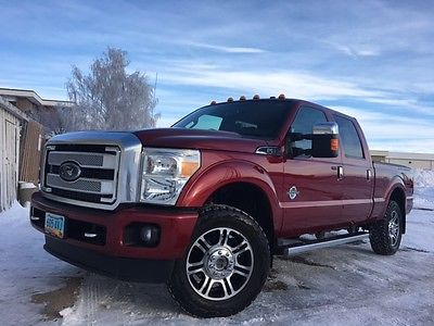 2013 Ford F-350 Platinum Crew Cab Pickup 4-Door 2013 Ford F-350 Super Duty Platinum Crew Cab Pickup 4-Door 6.7L
