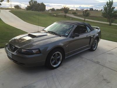 2001 Ford Mustang GT 2001 Ford Mustang GT Convertible