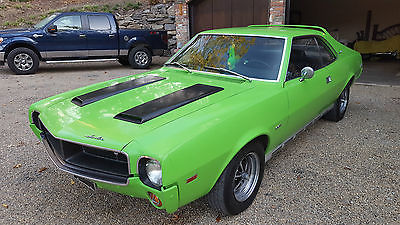 1969 AMC Javelin SST '69 Rare Muscle SST Jav , all original unmolested , highly optioned collectible