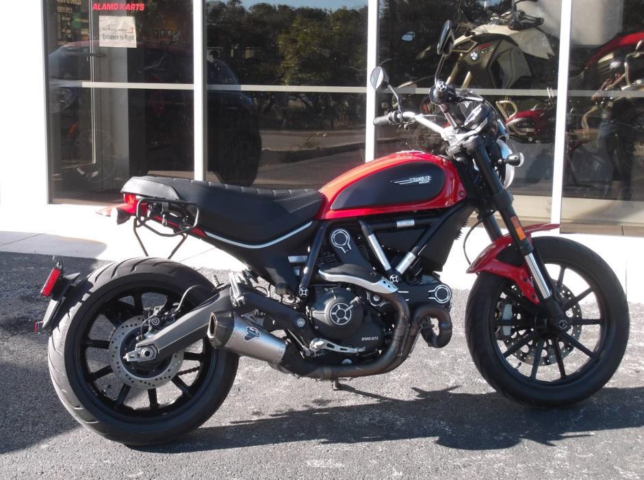 2015 Ducati Scrambler 800 ICON
