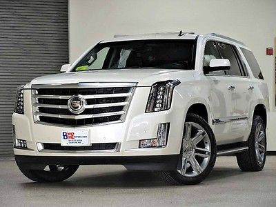 2015 Cadillac Escalade Premium Sport Utility 4-Door 2015 Cadillac Escalade Premium AWD 1-Owner with 22,000 Miles Loaded MINT