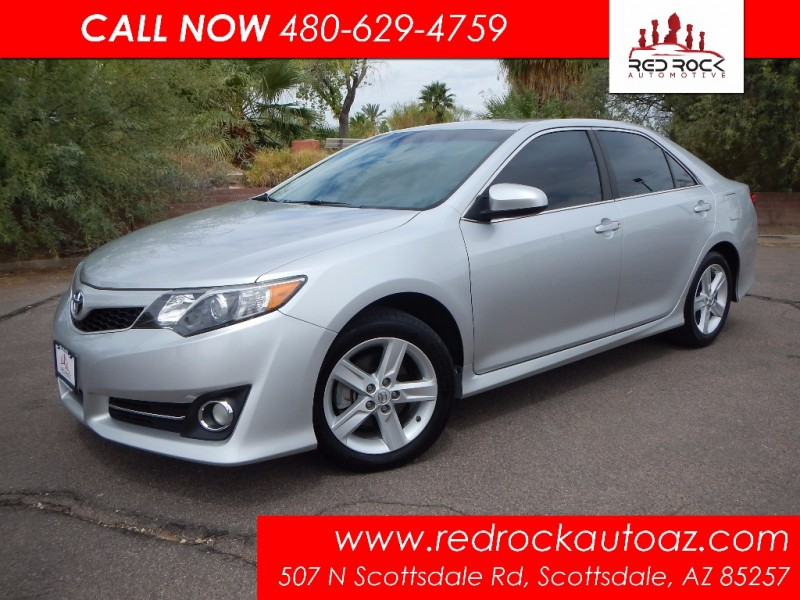 2013 Toyota Camry SE 27K Miles Leather Power Seat