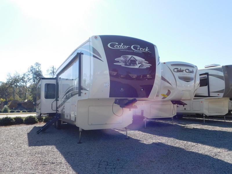 2017 Forest River Cedar Creek Hathaway Edition 36CK2