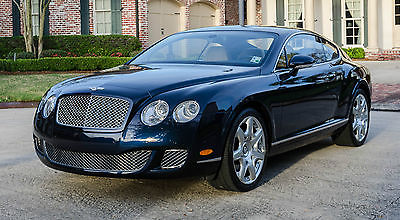 2008 Bentley Continental GT Dark Sapphire Mulliner 2008 Bentley Continental GT Mulliner with 11k Miles MINT - MINT