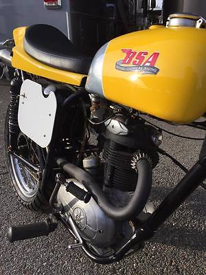 1963 BSA C 15  1963 BSA C15 250 Custom Flat Tracker