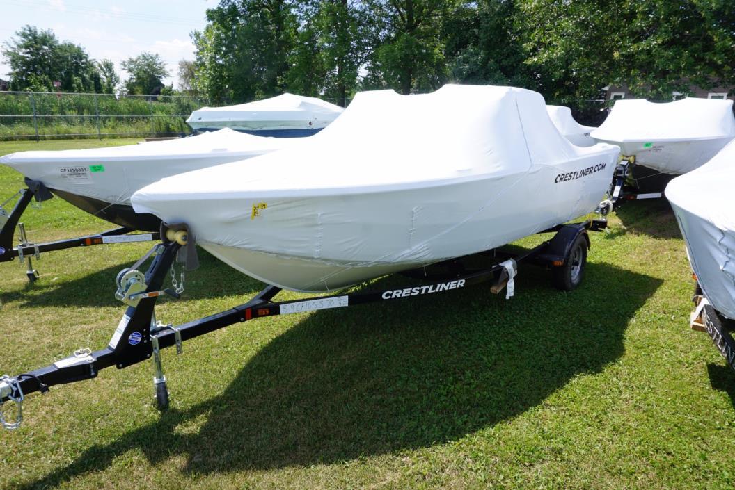 2016 Crestliner 1650 Fish Hawk WT