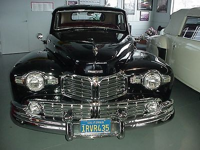 1948 Lincoln Continental MK I Coupe, Museum Quality Runs Like A Rolex 1948 LINCOLN CONTINENTAL MK I BLACK 12 cyl 3 Spd Museum Quality Restored