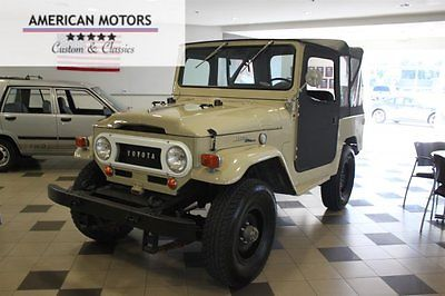1969 Toyota Land Cruiser 2 Door 1969 Toyota FJ40 Restored Great Condition, Runs Awesome, Price Lowered
