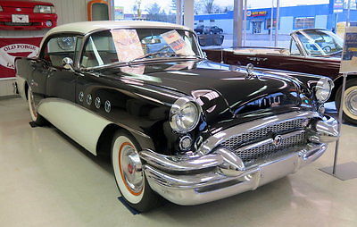 1955 Buick Century  Riviera 4 dr hardtop 322 V8 Automatic