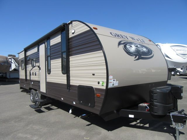 Forest River Cherokee Grey Wolf 22rr Toy Hauler Fro rvs ...