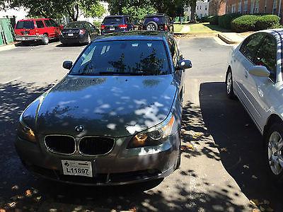 2004 BMW 5-Series 525i 2004 BMW 525I