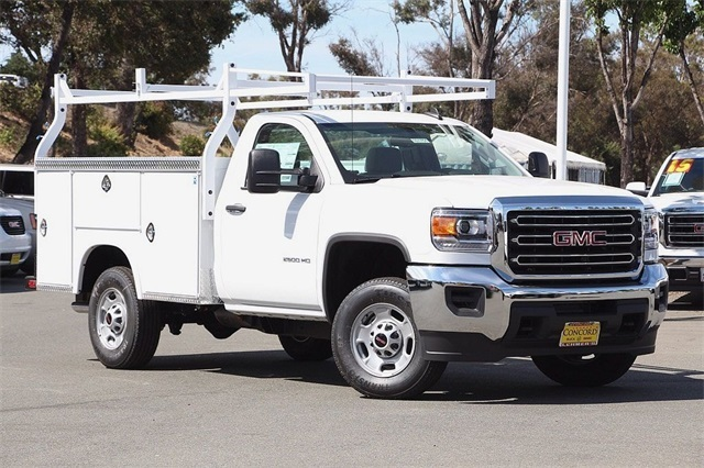 2016 Gmc Sierra 2500hd  Utility Truck - Service Truck