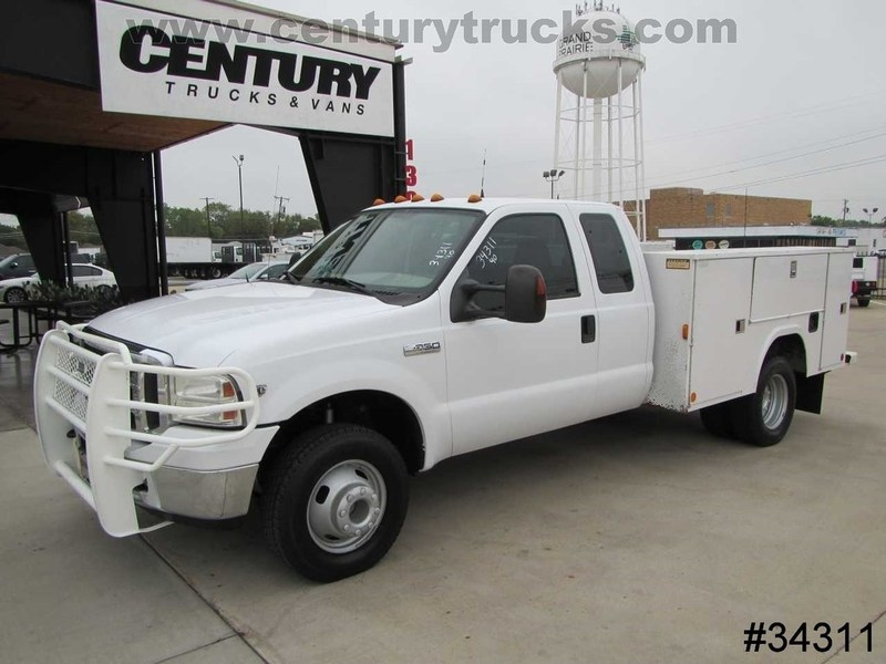 2005 Ford F350 4x4 Drw  Mechanics Truck