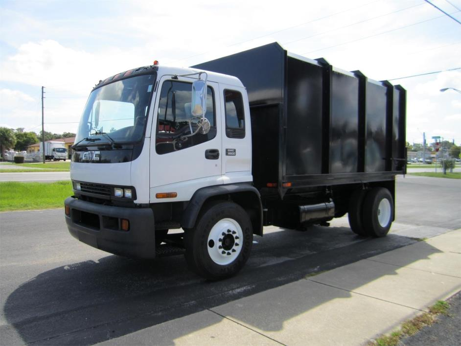 1998 Gmc T7500 Chipper Truck